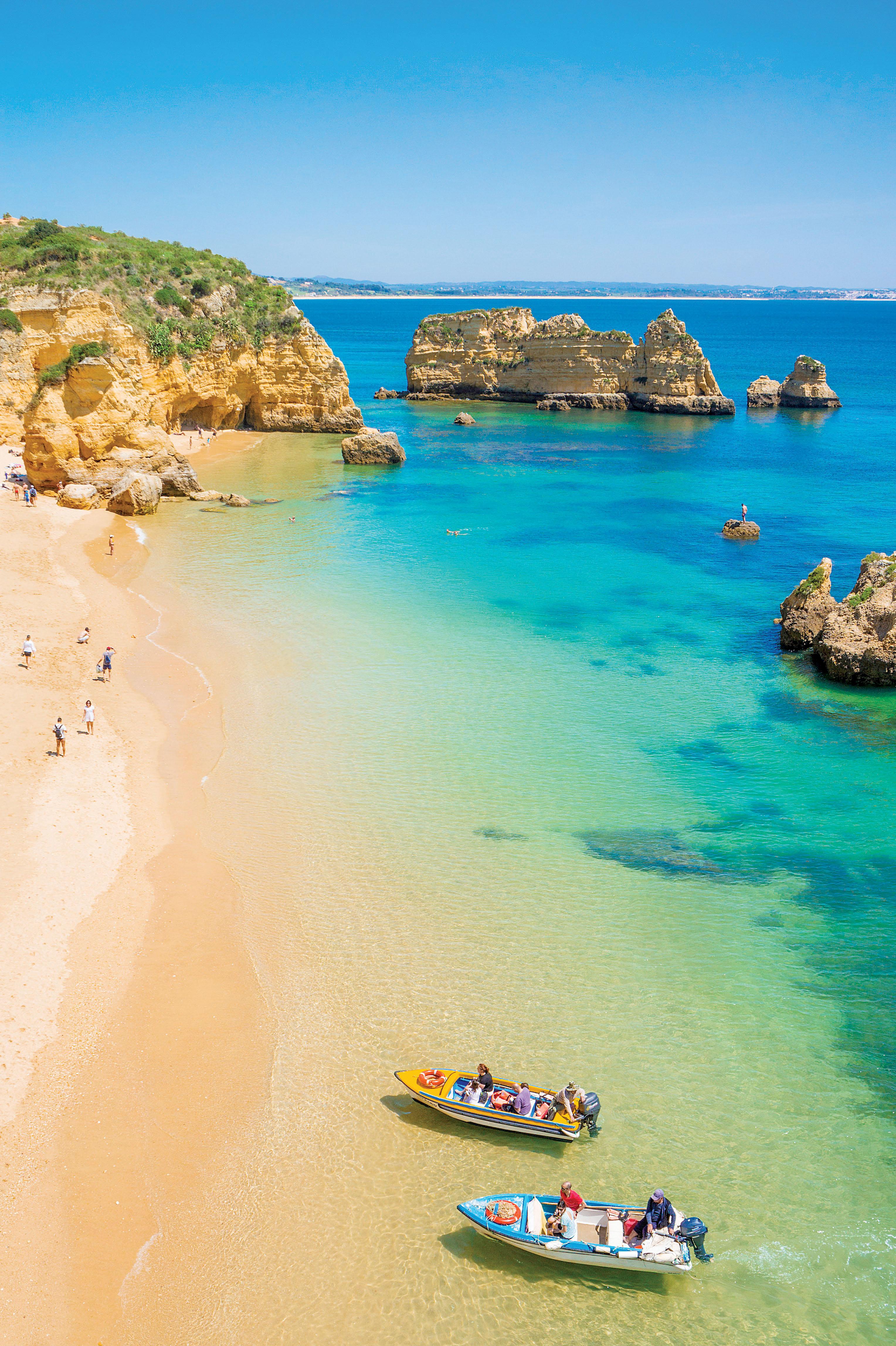 Złote piaski Portugalii