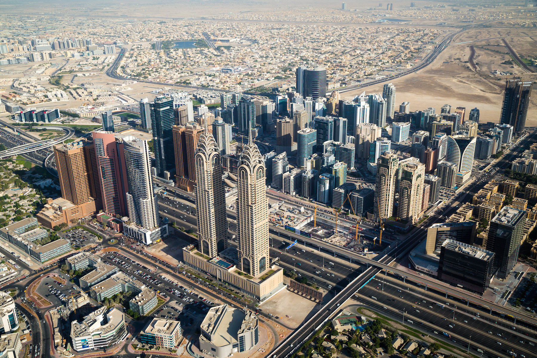 Dubaj - arabski Manhattan