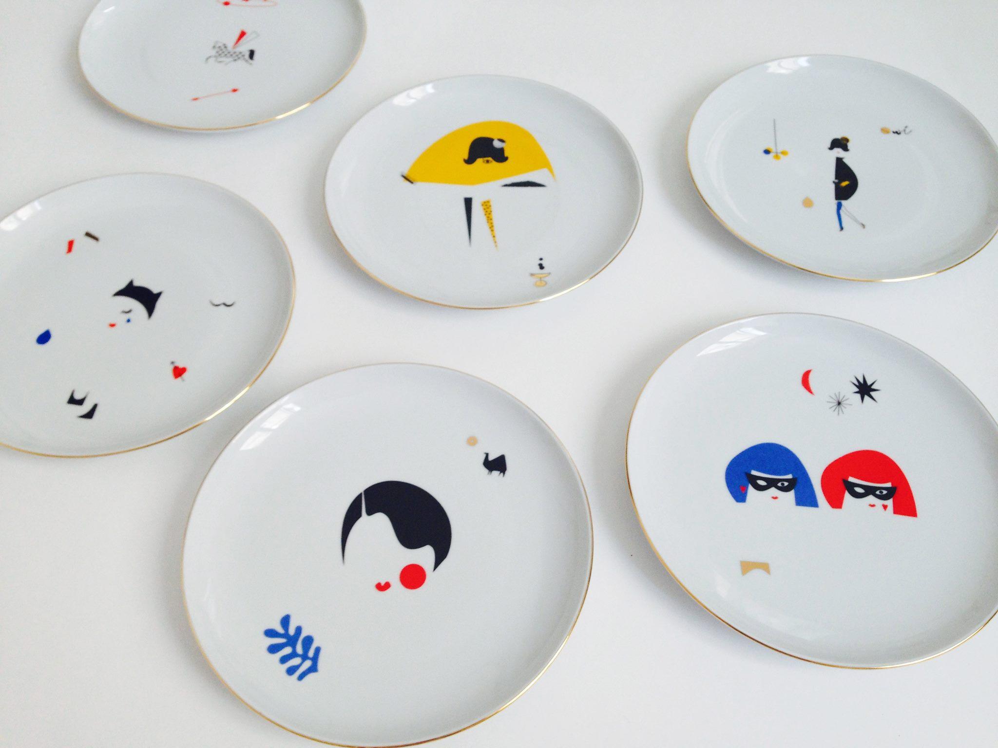 Look At Me Plates – talerze z historią