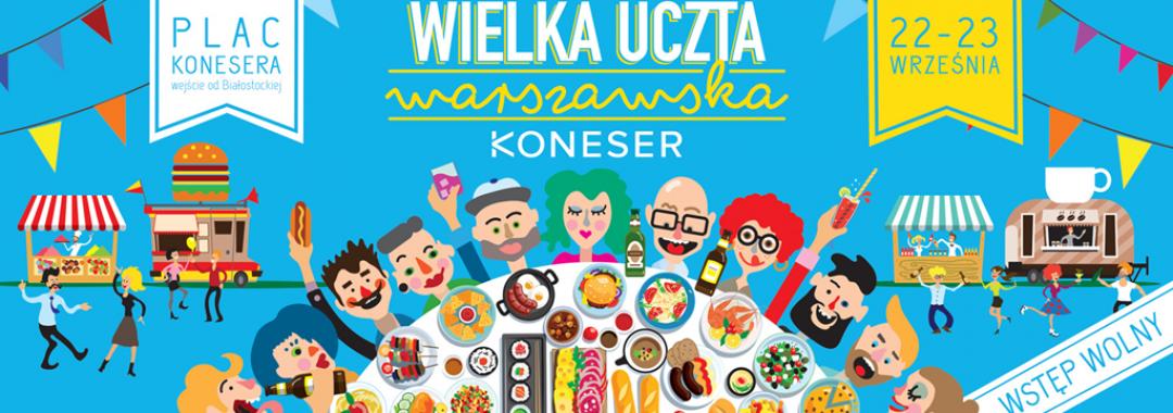 wielka uczta warszawska plac konesera