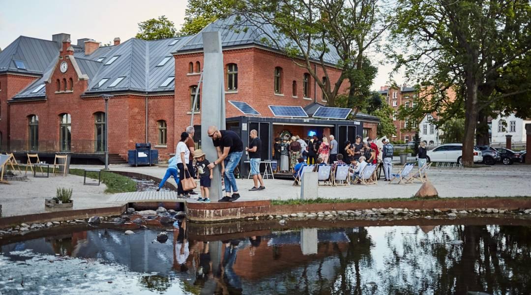 mobilny kontener kultury gdańsk