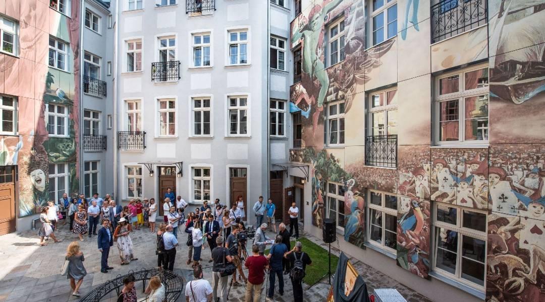 mural łódź