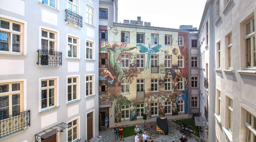 lódź mural wojciech siudmak
