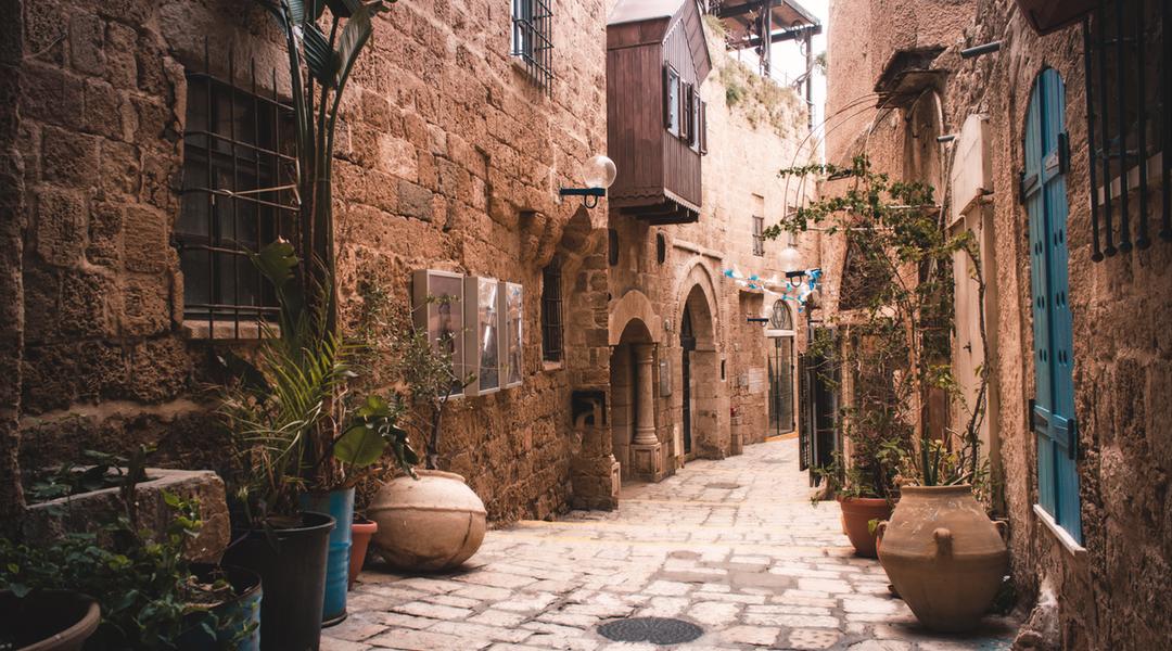 Jaffa stare miasto w Tel Awiwie