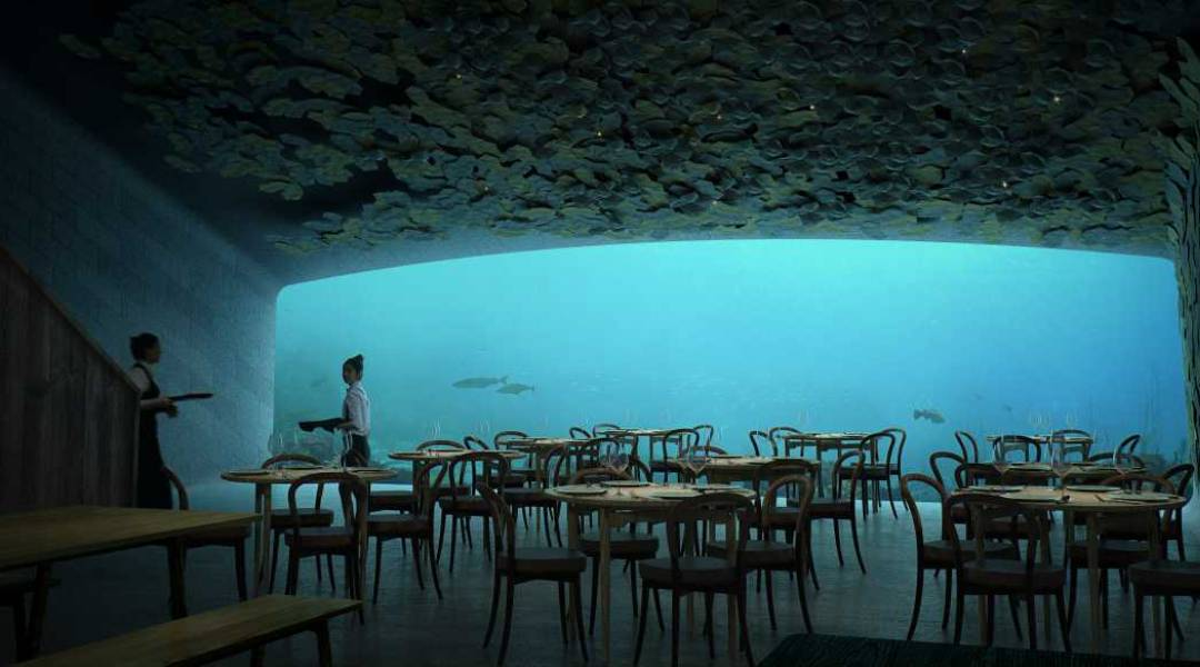 restauracja under wnetrze