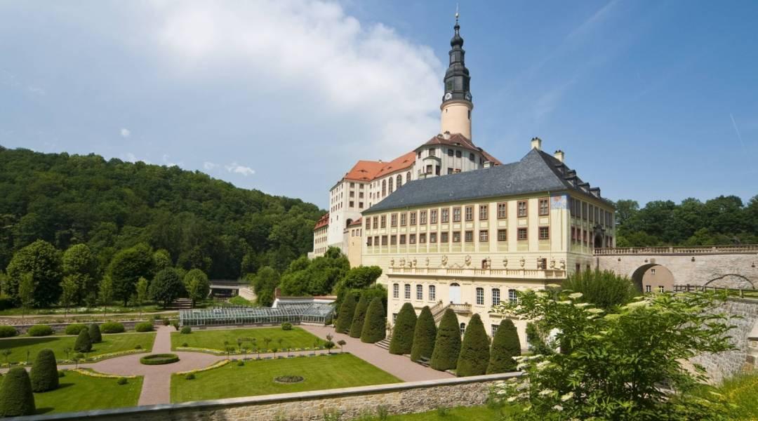 zamek Weesenstein w Saksonii