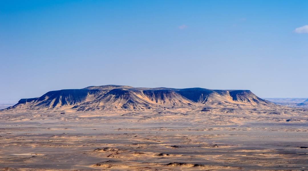 pustynia czarna egipt