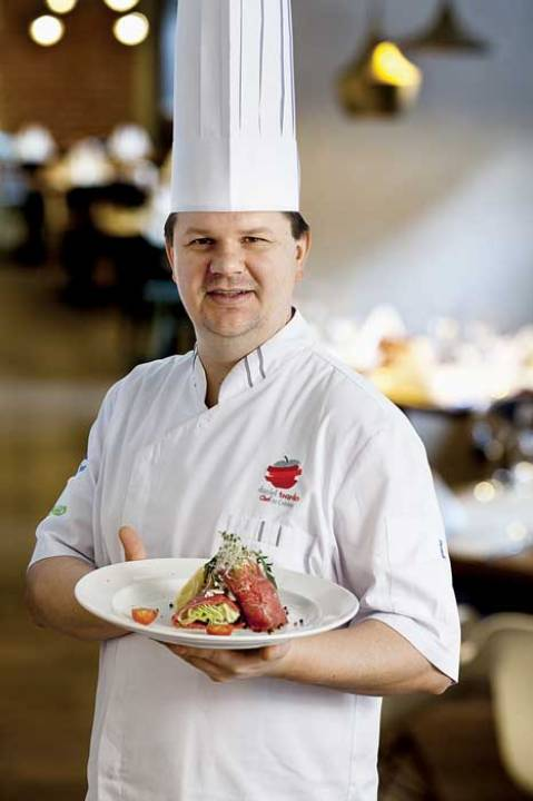 Szef kuchni Daniel Twardo