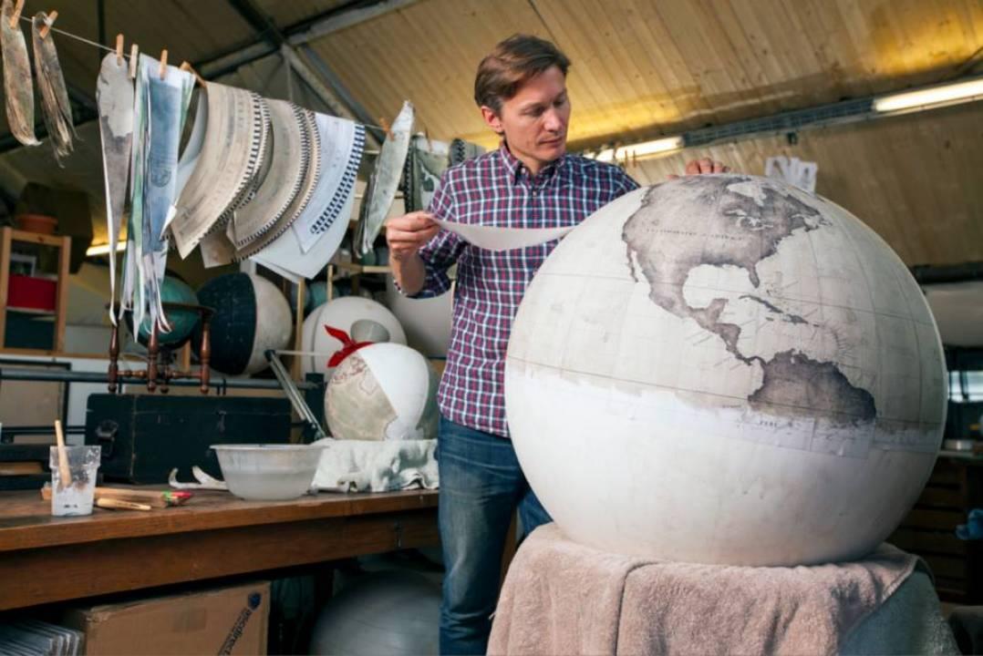 Fot. Fot. Bellerby & Co. Globemakers, Gareth Pon, Tom Bunning, Ana Santl