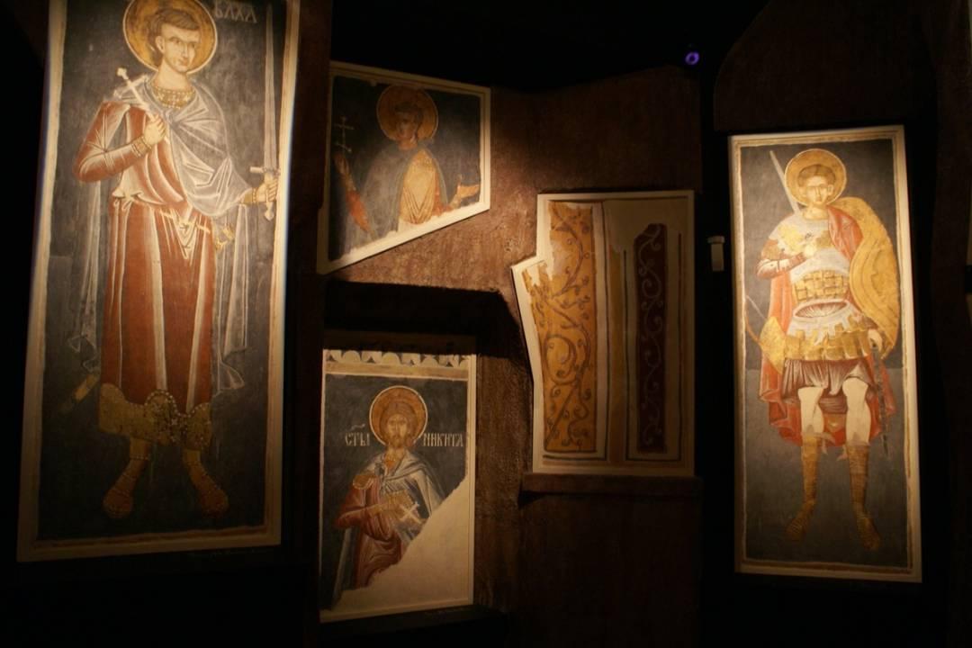 Sala Fresków w Muzeum Ikon