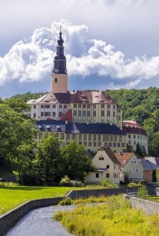 Saksonia zamek Weesenstein