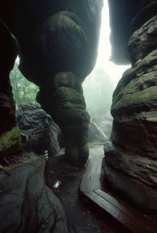 labirynty w górach stołowych