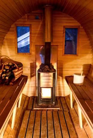 pływająca sauna giżycko
