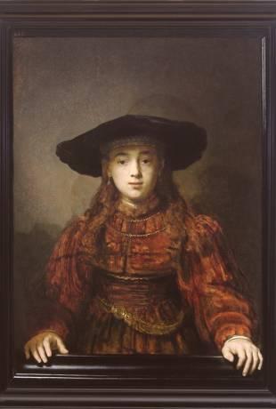 Rembrandt zamek królewski w warszawie
