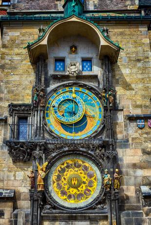 gdzie na weekend - zegar astronomiczny Praga