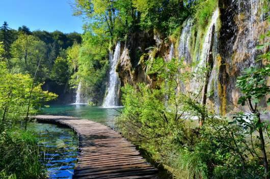 chorwacja ciekawe miejsca jeziora plitwickie park narodowy 2
