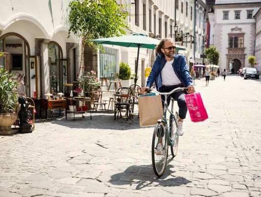 austria linz na rowerze