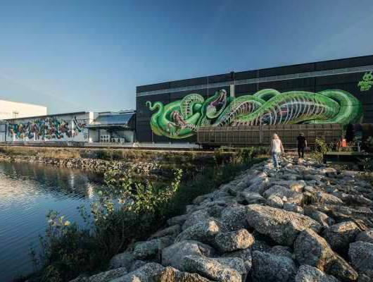austria linz dzielnica graffity