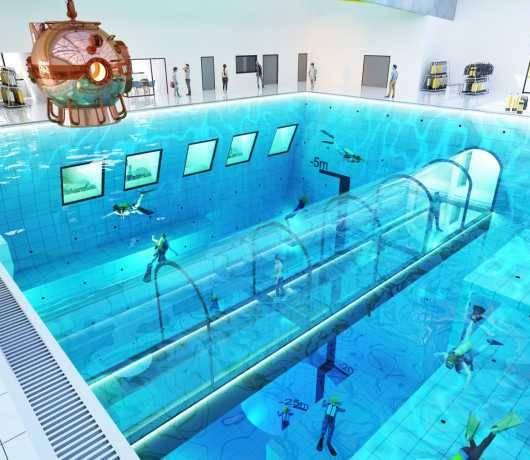 najgłębszy basen na świecie mszczonów