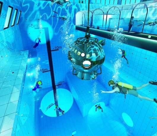 najgłębszy basen na świecie koło warszawy