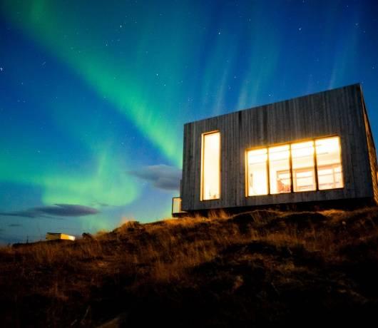 prywatna wyspa norwegia noc