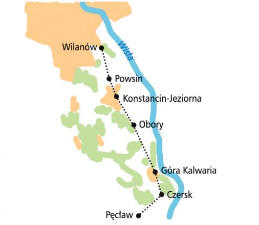 trasa rowerowa warszawa