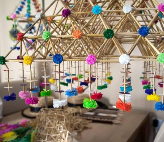 dekoracje wielkanocne - pająki tradycyjne