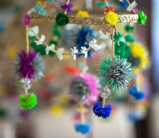 dekoracje wielkanocne - pajątki łowickie