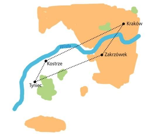 trasy rowerowe kraków