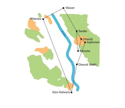 trasy rowerowe warszawa