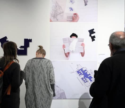 Widok wystawy Akupunktura miasta, fot. M. Kaczyński, Centrum Kultury ZAMEK