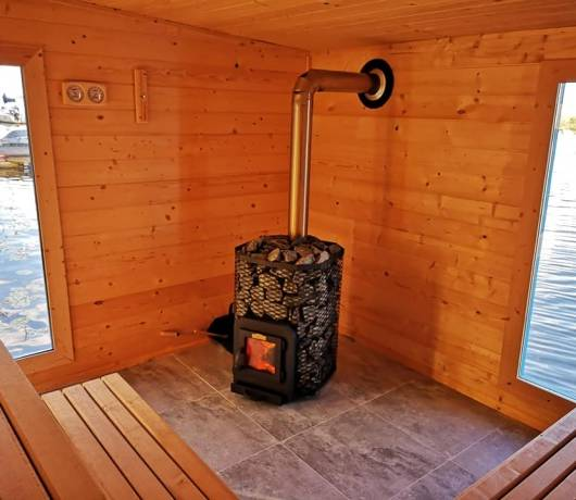 pływająca sauna zalew zegrzyński