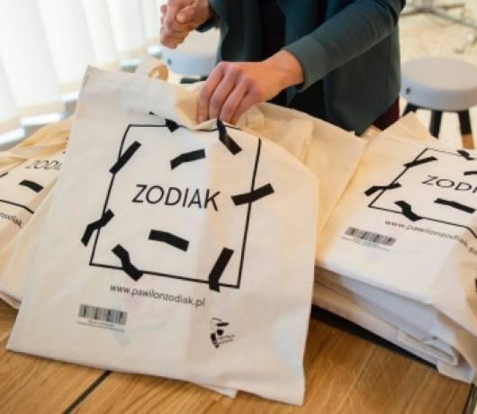 zodiak pawilon architektury warszawa torby