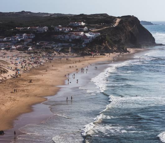 wybrzeże w portugalii