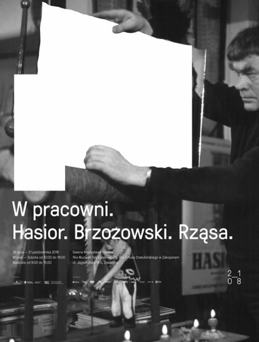 wystawa Hasior, Rząsa, Brzozowski, Muzeum Tatrzańskie