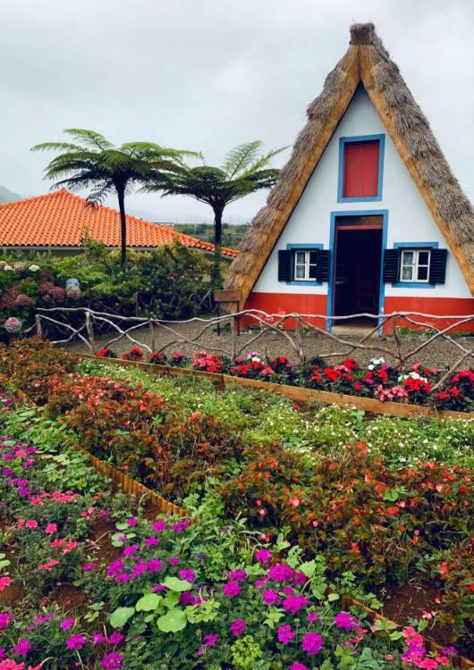 santana domki na maderze