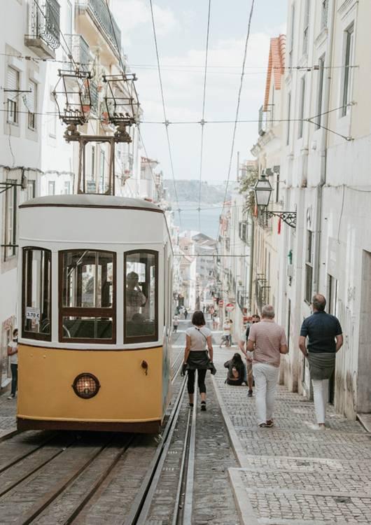 tramwaj 28 w lizbonie