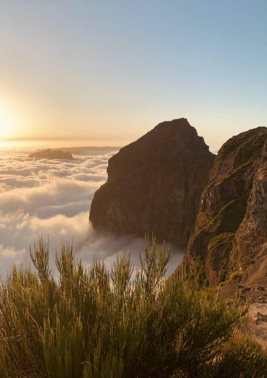 pico do arieiro szczyt