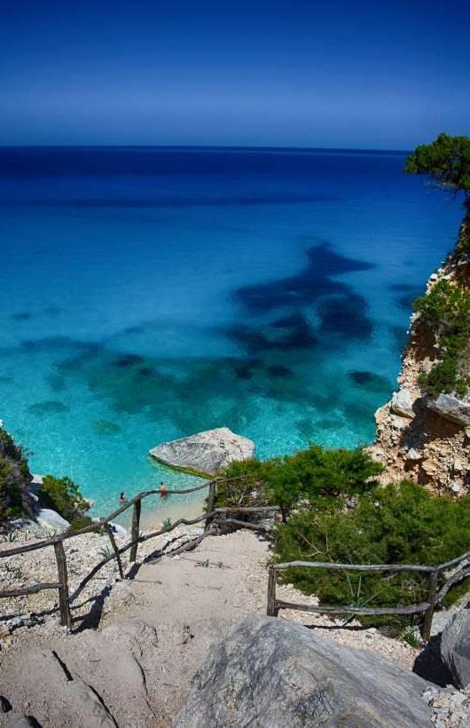 Sardynia plaża Cala Goloritze