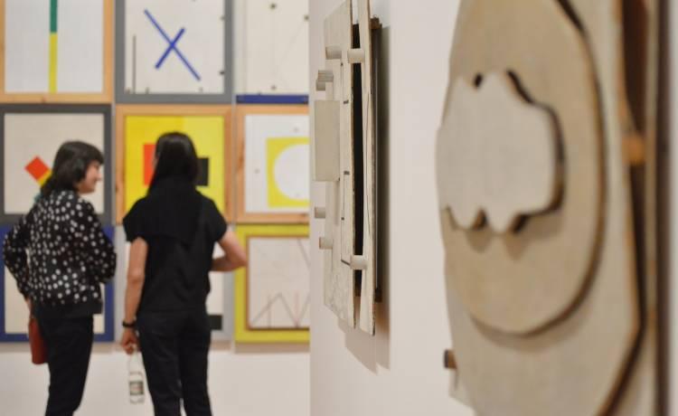 Zdjęcie główne i zdjęcia ekspozycji Koji Kamoji. Cisza i wola życia,  Zachęta, Marek Krzyżanek