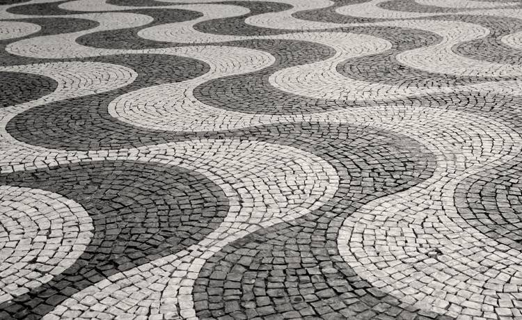 kostka brukowa w Lizbonie