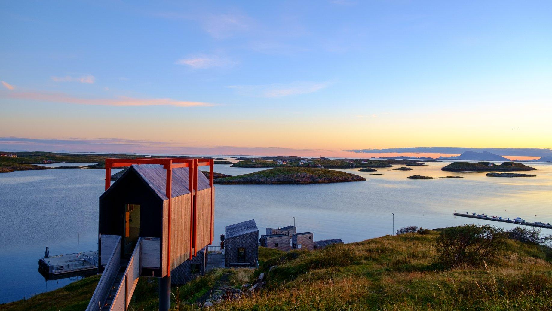 prywatna wyspa w norwegii