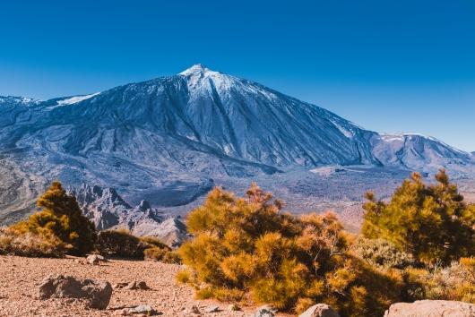Wulkan El Teide w całej okazałości