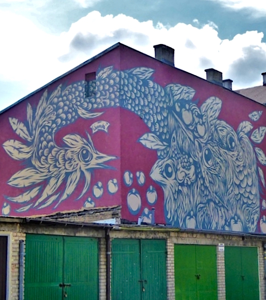 Street art w Białymstoku; fot. Anna Kraśnicka