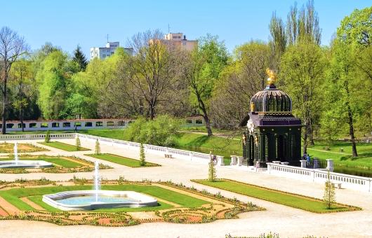 Białystok z lotu ptaka i Pałac Branickichl; fot. Shutterstock