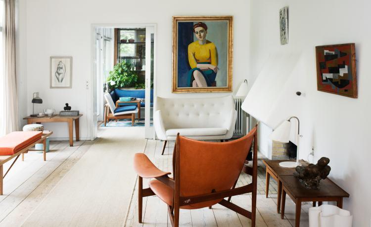 Od góry: dom duńskiego kolekcjonera i dom Finna Juula, fot. materiały prasowe muzeum