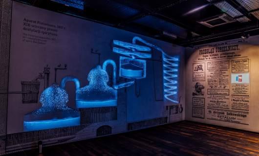 Multimedialne wystawy w Muzeum Polskiej Wódki; fot. materiały prasowe
