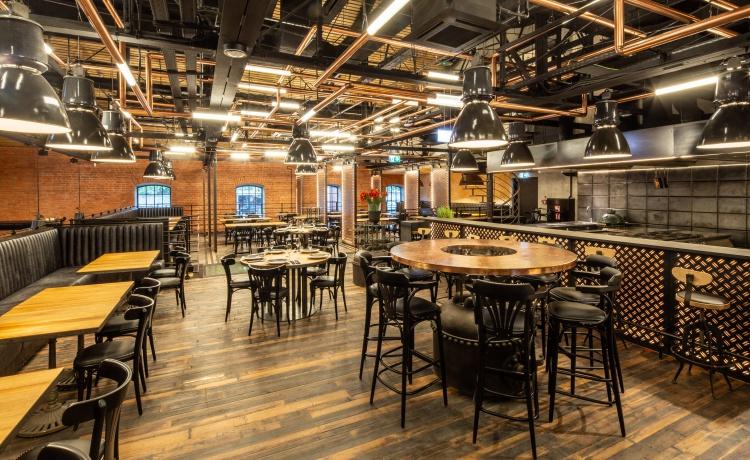 restauracja zoni wnętrze