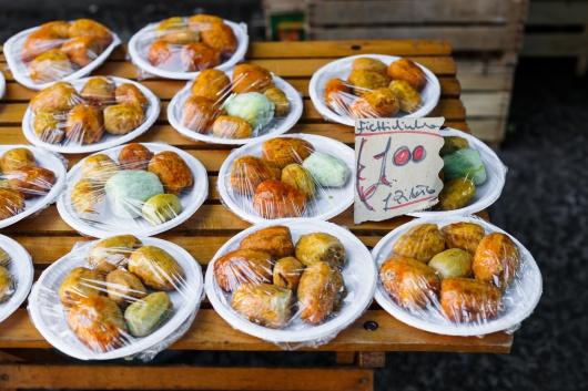 Włochy Ballaro jedzenie