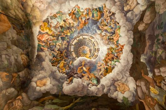 Włochy Mantua włoch freski